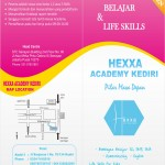 Brosur Program SMA Hexxa Academy Kediri